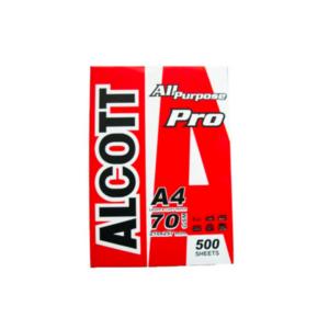 กระดาษ70gA4Alcott500p