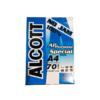 กระดาษ70gA4Alcottฟ้า-ดำ500p