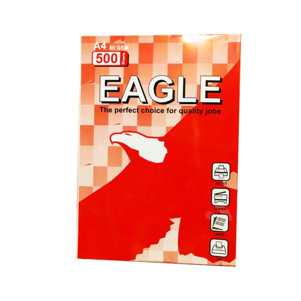 กระดาษ80gA4นกอินทรีย์500p