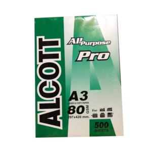 กระดาษ80gA3Alcott/Peacock
