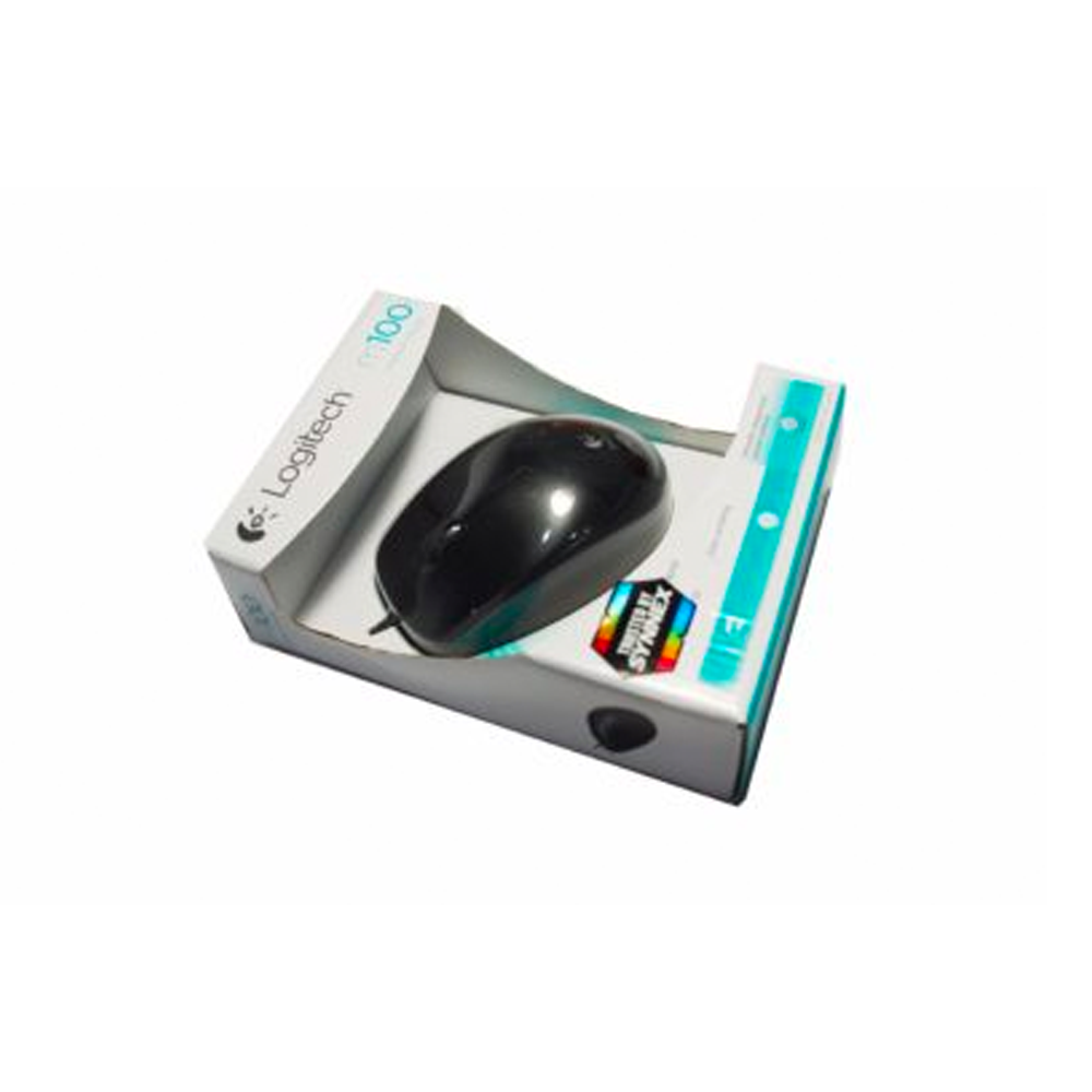 เม้าส์ Logitech/Optical M100R(USB)