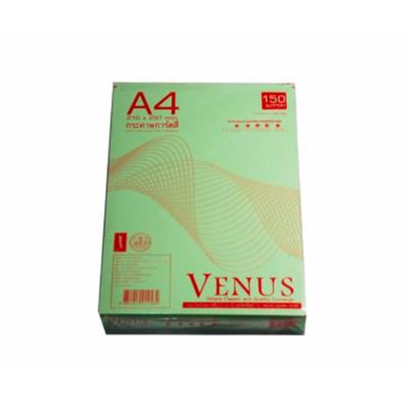 กระดาษการ์ดสีเขียวA4150g180P