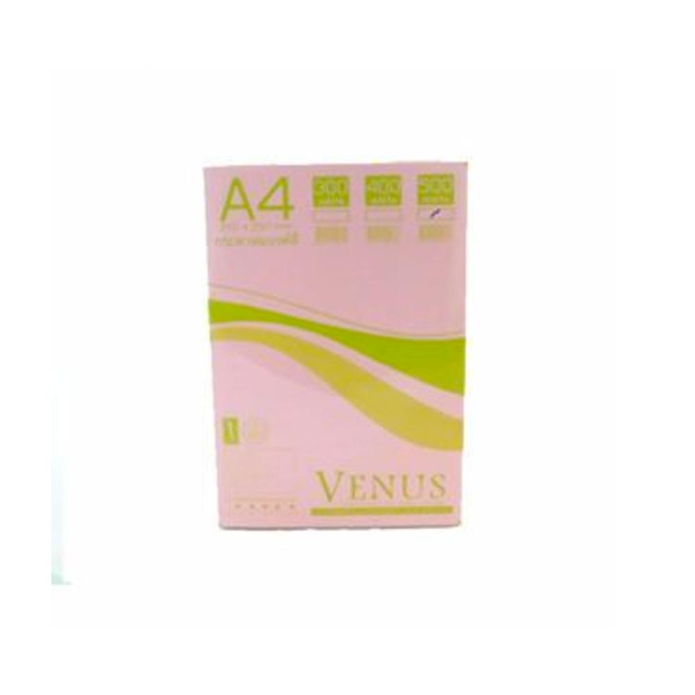 กระดาษแบงค์ชมพูA455g500P