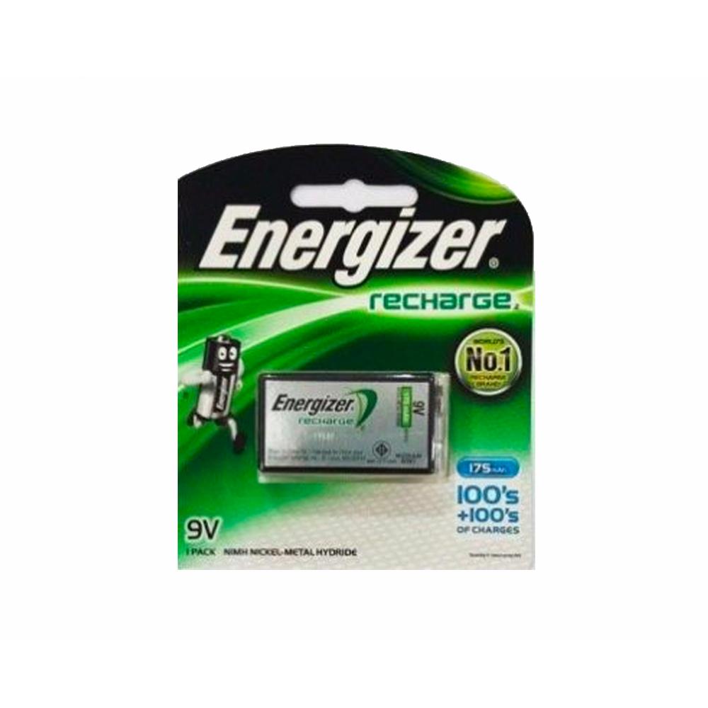 ถ่านชาร์จไฟ9V175mAh/Energizer