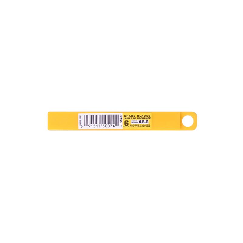 ใบมีดเล็กOLFAAB6/10(1x60)