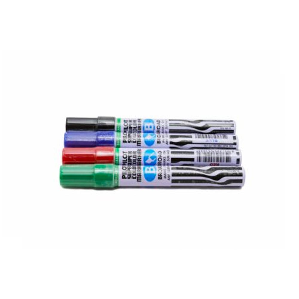 ปากกาเคมีPilotหัวตัดเขียว