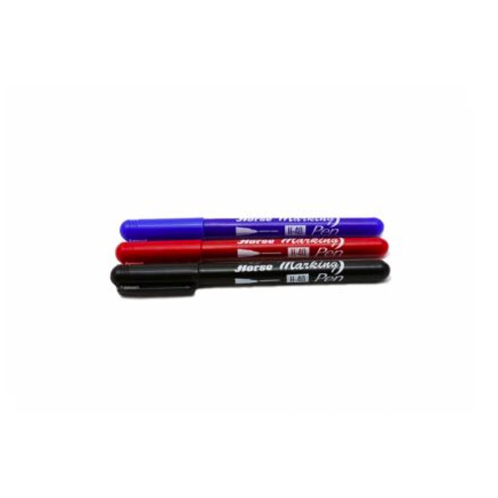 ปากกาเคมีเล็ก*ม้าH-40แดง