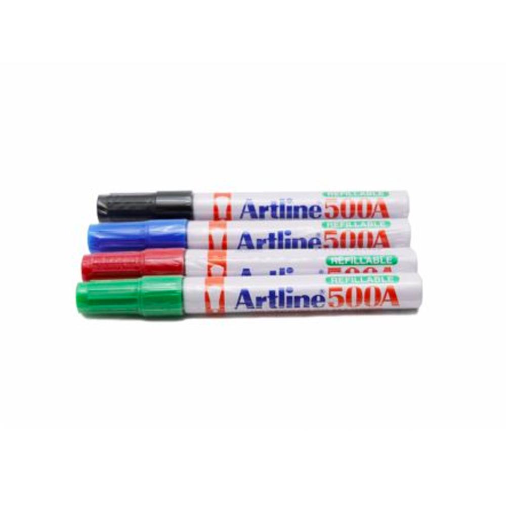 ปากกาไวท์บอร์ดArtline-500แดง
