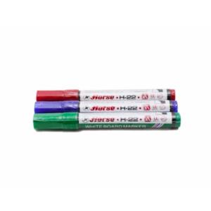 ปากกาไวท์บอร์ดHorseH-22ดำ