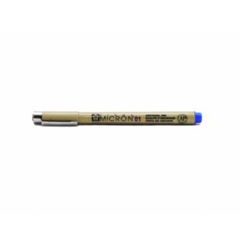 ปากกาหัวเข็มปิกม่า0.1mmน/ง