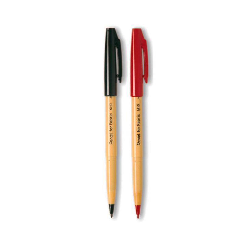 ปากกาเขียนผ้าเพนเทลM10*แดง