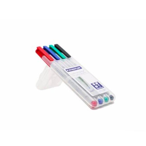 ปากกาสเต็ดเลอร์ลบได้F4สี