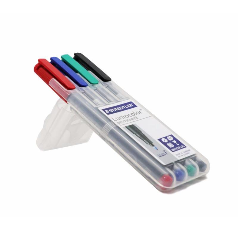 ปากกาสเต็ดเลอร์ลบไม่ได้F4สี