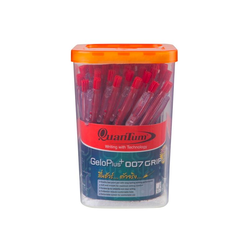 ปากกาQuantum007*แดง