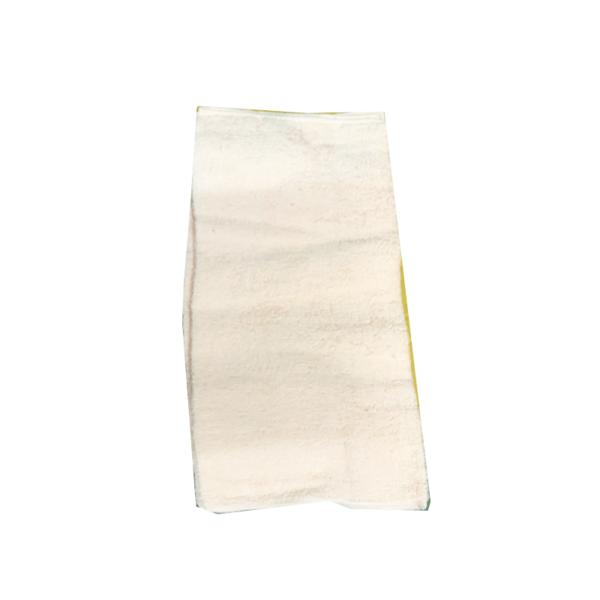 """ผ้าเช็ดมือ15x30""""สีขาวชนิดหนา"""