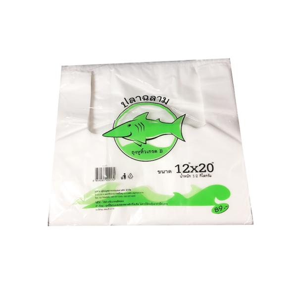 ถุงหูหิ้วขาว6x14*(1X100ใบ)