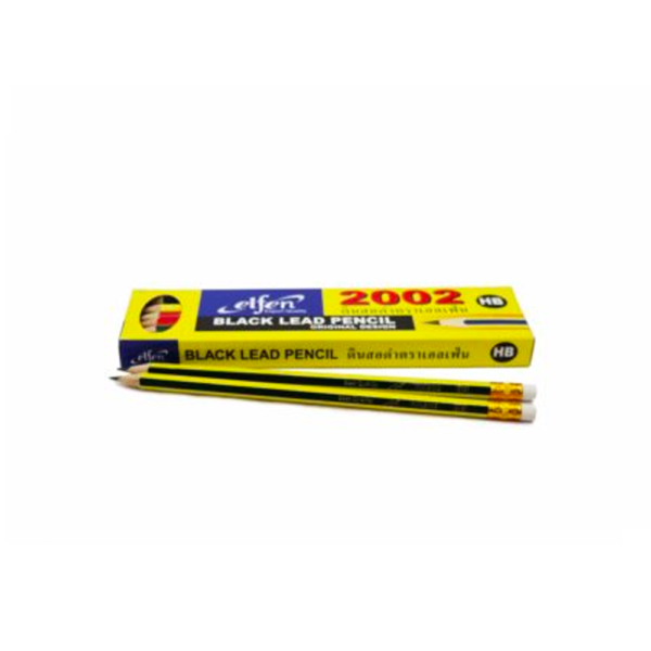 ดินสอเหลา*เอลเฟ่น2002HB(แท่ง)